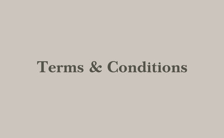 Rooms Terms & Conditions - HolidayInn Rayong