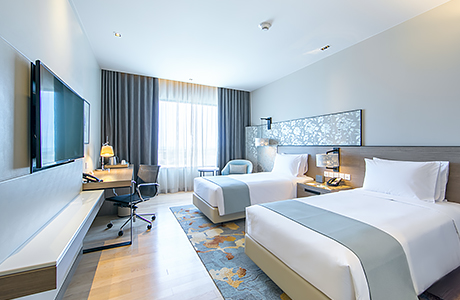 Deluxe Rooms at HolidayInn Rayong